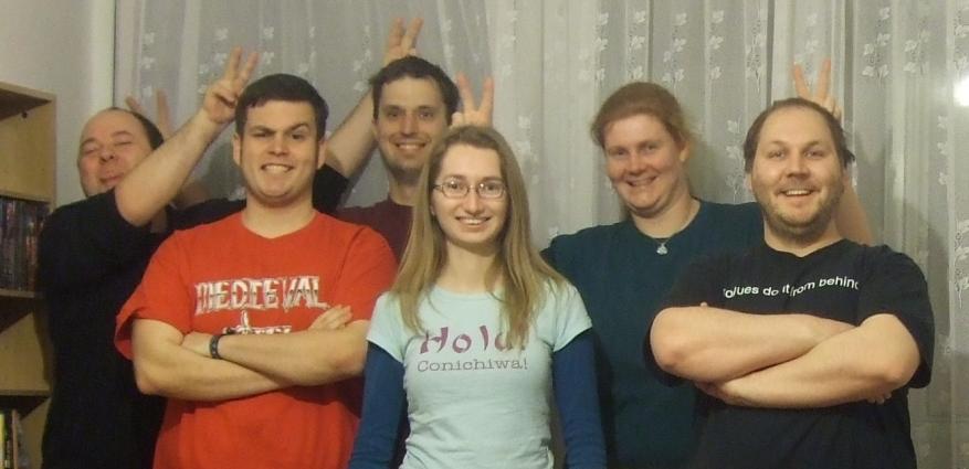 Unsere Warhammer Crew (zum Vergrößern klicken)