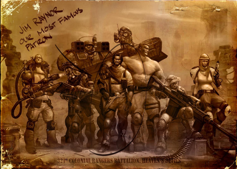 Raynor's Raiders (zum Vergrößern klicken)
